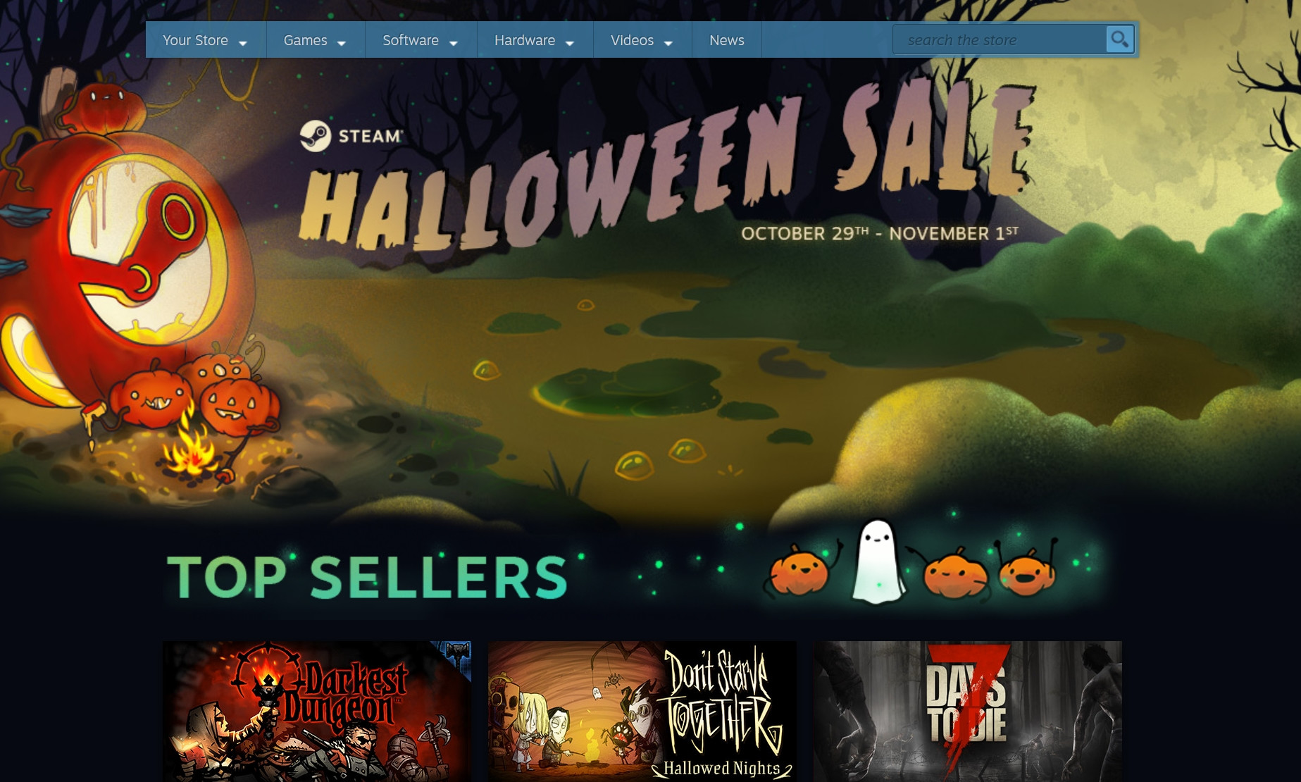 Halloween Games 2018.The Strategy Gamer S Guide To The Steam Halloween Sale 2018