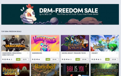 humble drm freedom sale