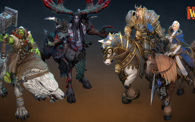 warcradt 3 regfroged new character models
