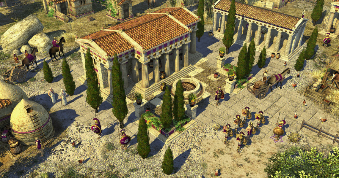 Waiting for Age of Empires 4? 0 A D  is the next best thing