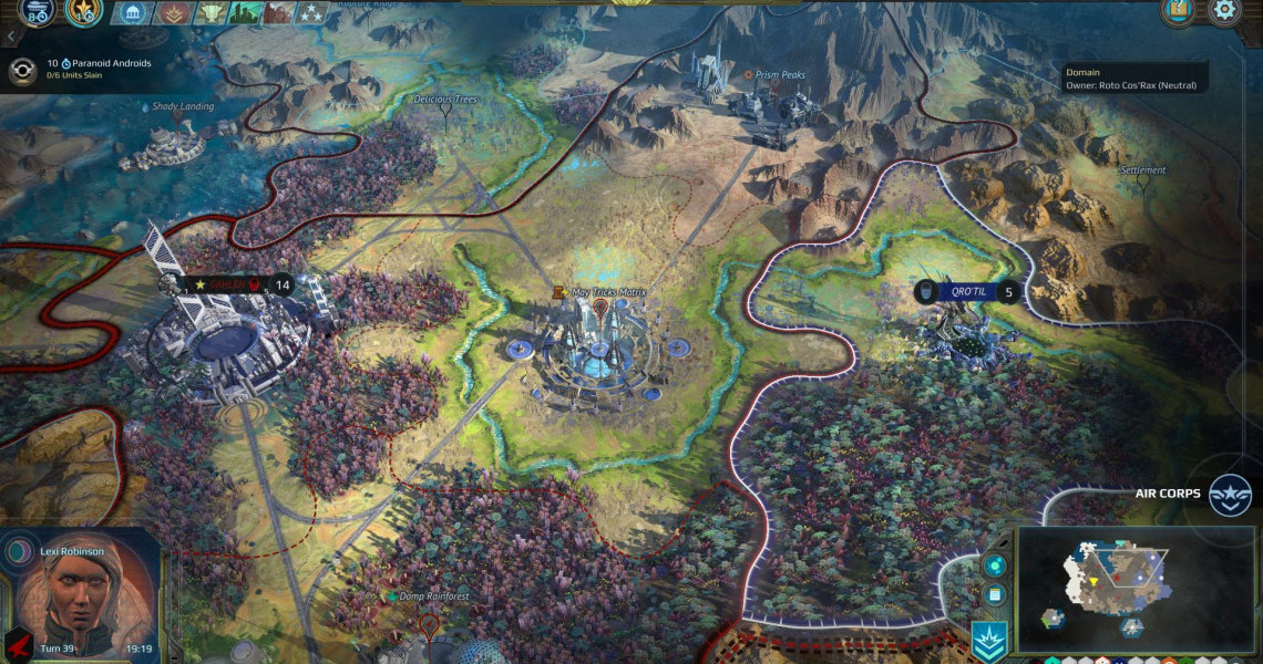 Age of Wonders: Planetfall Review   Strategy Gamer