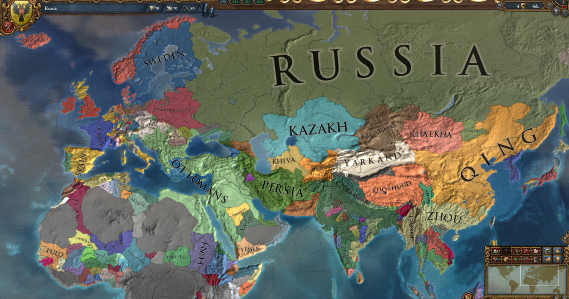 Challenge Accepted II: Vanilla Europa Universalis IV is put to the