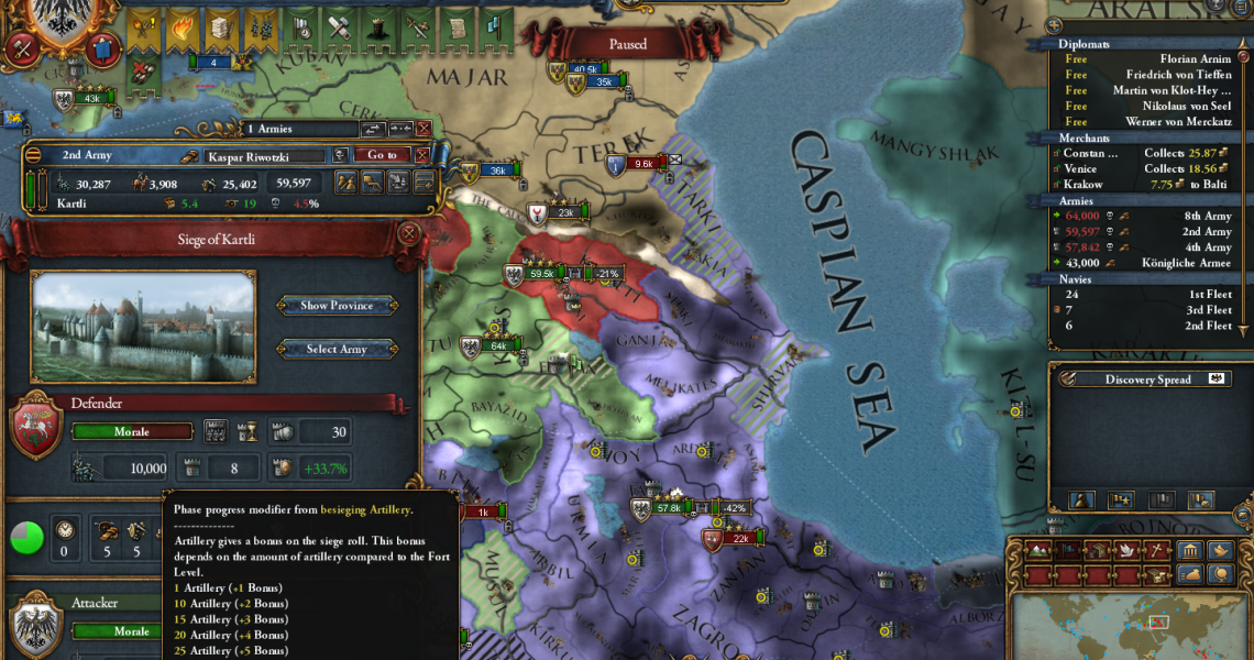 A Guide to Preparing for War in Europa Universalis IV