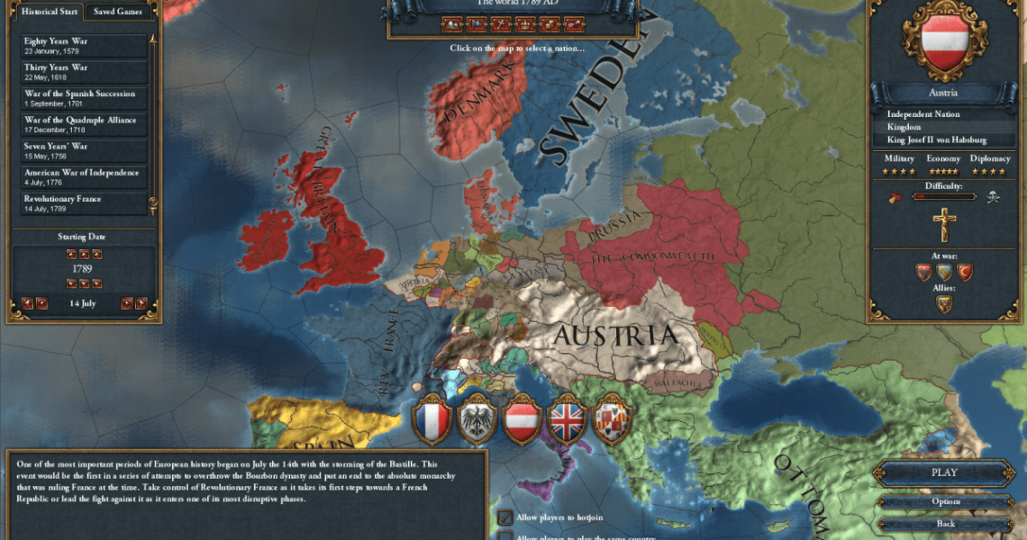 Crusader Kings 2, EU4 & Hearts of Iron 4 all getting big