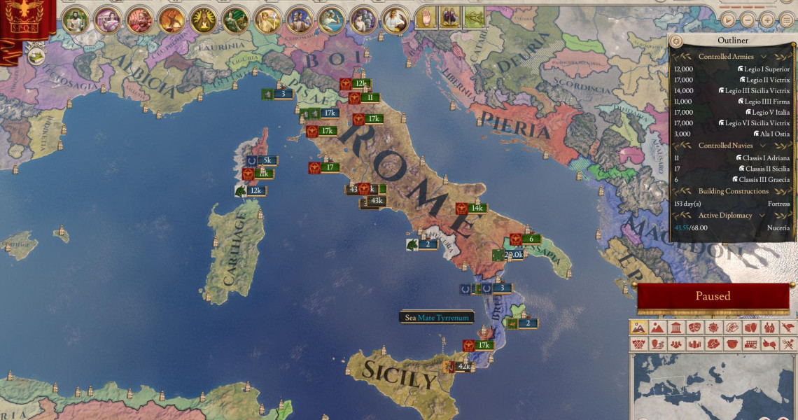 Imperator Rome Steam Rating