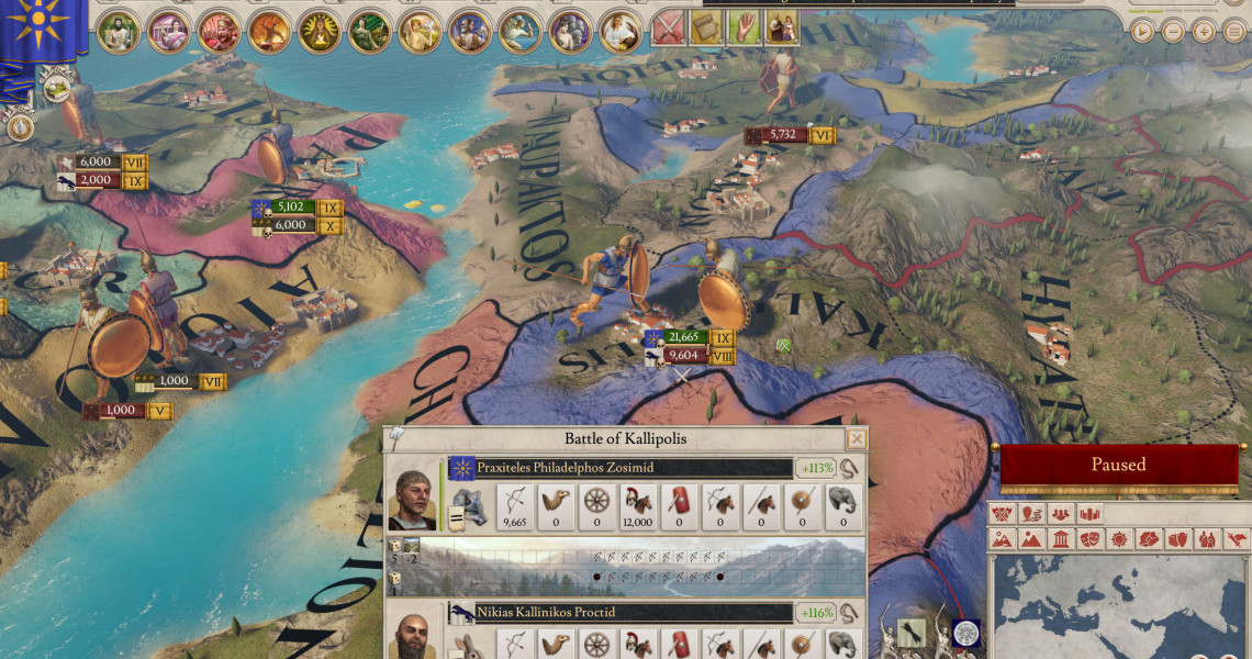 Imperator: Rome - Release Date, Gameplay, Map, and