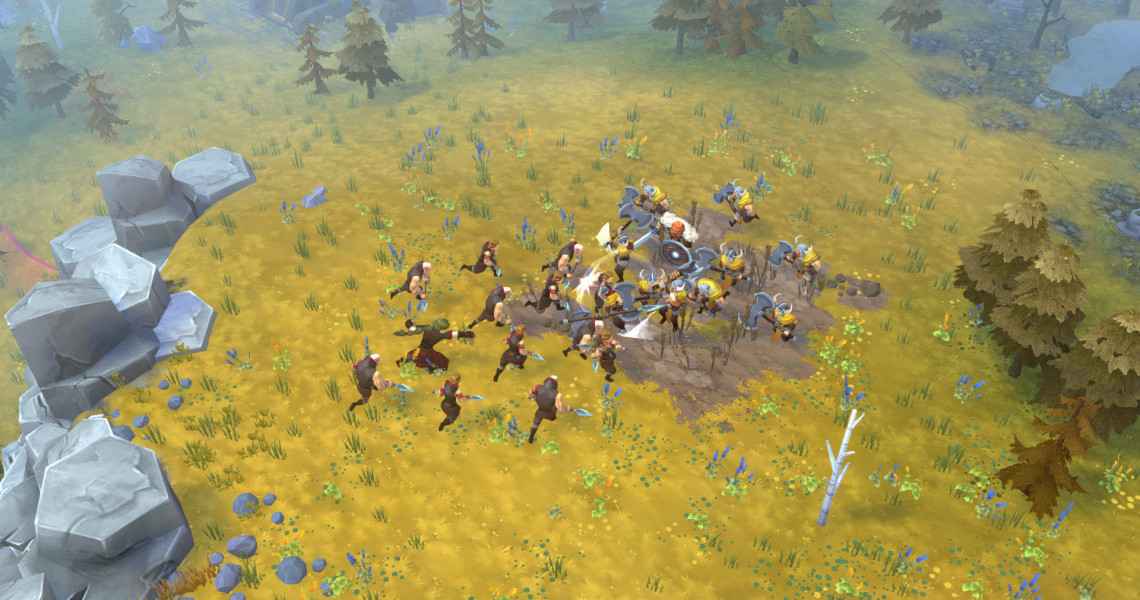 Northgard gets the Clan of the Snake DLC and a free unit