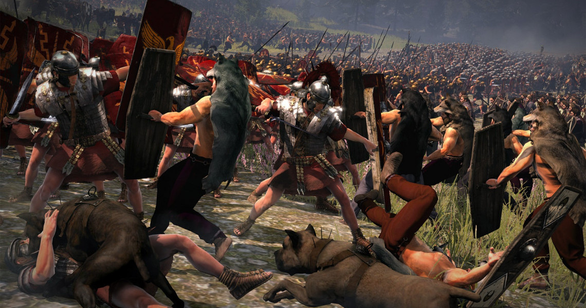 More Rome 2 DlC, a new fantasy Warhammer game, Norsca