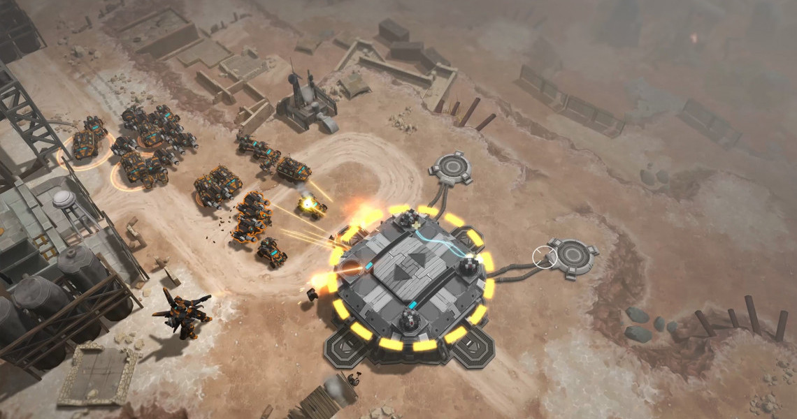airmech wastelands header