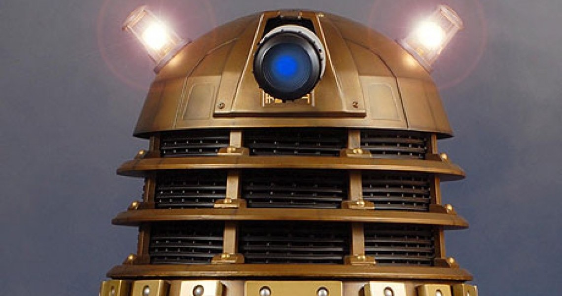doctor who gold dalek 006