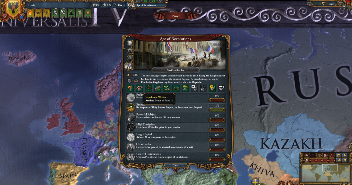 Europa Universalis IV: A Guide to Ages | Strategy Gamer