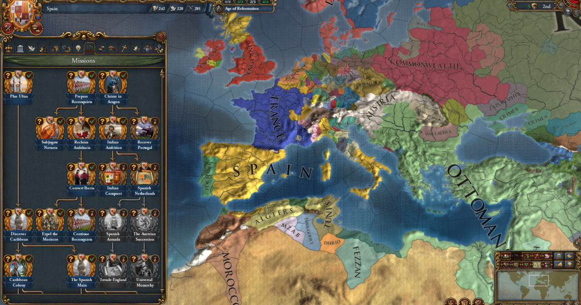 Review: Europa Universalis 4: Golden Century | Strategy Gamer