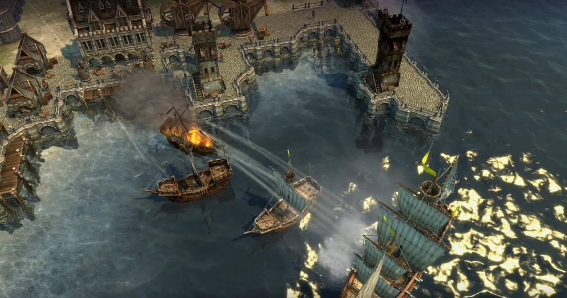 Anno 1404 Efficient Building Layouts.Naval Strategy Done Right Anno 1404 Strategy Gamer