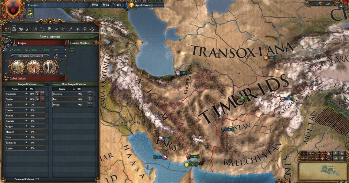 Overview: Europa Universalis IV: Cradle of Civilization