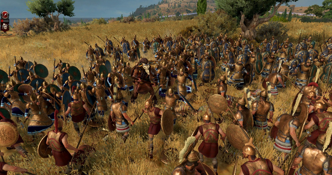 total war saga troy minotaur unit