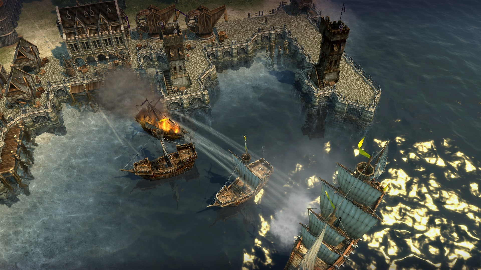 naval strategy done right anno 1404 strategy gamer