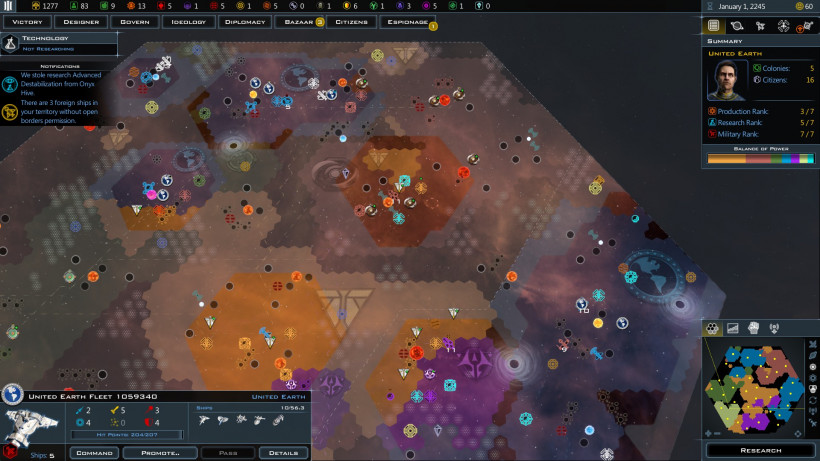 Review: Galactic Civilizations III + Intrigue Expansion | Strategy Gamer