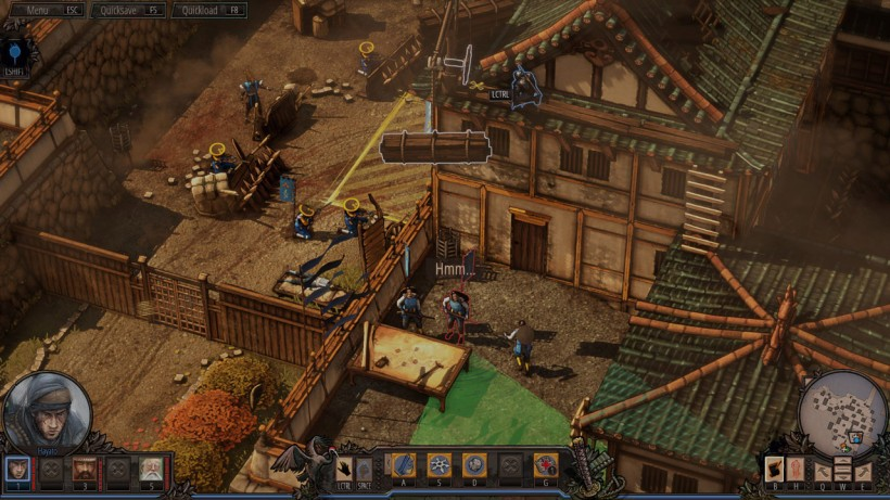Shadow Tactics Blades of the Shogun recensione PC 02