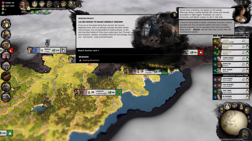Ten Turns with Total War: Three Kingdoms | Strategy Gamer
