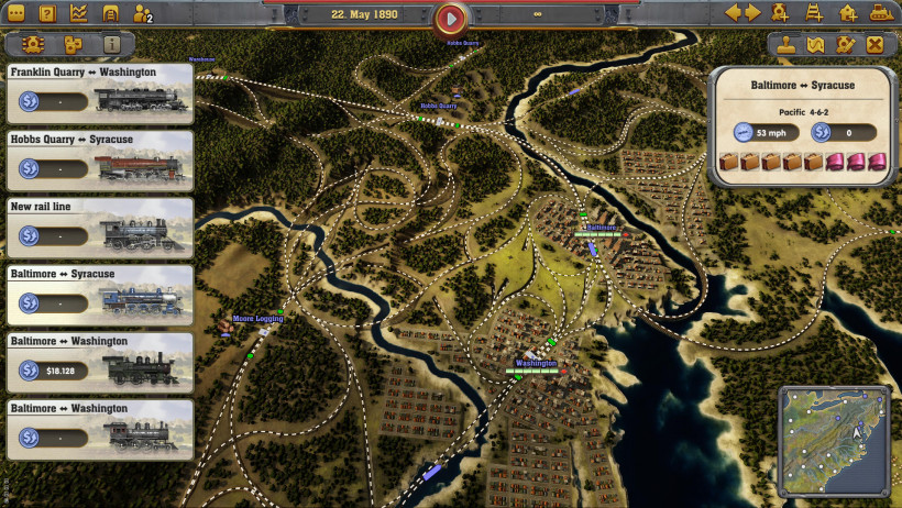 Review: Railway Empire   Strategy Gamer