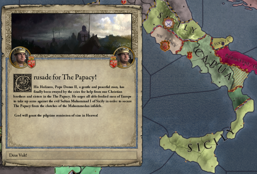 Deus Vult: Why I'm Excited for the Future of Crusader Kings II