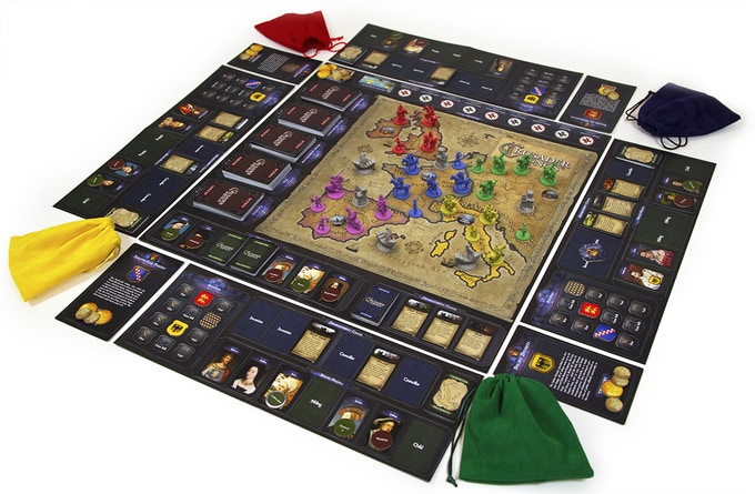 The Crusader Kings board game pales in comparison to its